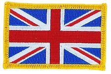 Parche bandera PATCH REINO UNIDO UK 7x4,5cm bordado termoadhesivo nuevo