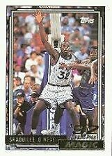 Rookie Shaquille O'Neal Modern (1970-Now) Basketball Cards