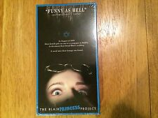 THE BLAIR PRINCESS PROJECT NEW SEALED SUPER RARE OOP VHS! NOT ON DVD BLAIR WITCH