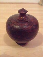 Old Brown Antique Urn Money Change Box