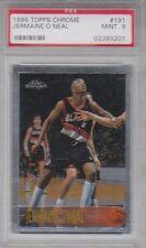 1996-97 Topps Chrome Jermaine O'Neal Rookie #191 PSA 9 Mint