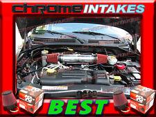 K&N+BLACK RED DUAL 05-10 JEEP GRAND CHEROKEE 5.7L 6.1L SRT8 HEMI AIR INTAKE KIT