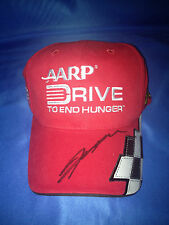 JEFF GORDON NASCAR signed AARP hat w/ COA