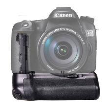 Pro Travor Battery Grip Pack Holder For Canon EOS 70D 80D DSLR Camera As BG-E14