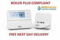 RFRP /& RF1A // EPH Digital RF programmable room Thermostat Receiver Combipack 4