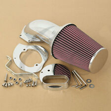 Chrome Air Cleaner Intake Filter Kits For Yamaha Vstar Dragstar XVS 1100 1999-UP