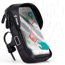 IMPERMEABILE da Bici per Motorola/Lenovo 360 ° manubrio borsa bicicletta