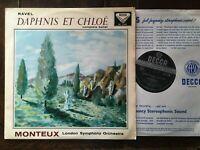Decca SXL 2164. 1st Edition. Ravel: Daphnis et Chloe. Complete Ballet.
