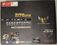 ASUS TUF Sabertooth Z170 (Mark 1) M.2 USB 3.1 LGA1151 ATX Motherboard #EB9301