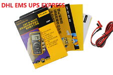 F17B+ FLUKE 17B+ Digital multimeter Tester DMM with TL75 test leads DHL EMS UPS