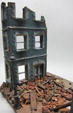 Escala 1/35 ~ dañado en batalla Ciudad Esquina Modelo Militar Diorama