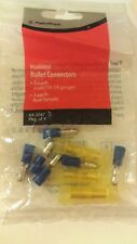 Insulated Crimp-On Pin Connectors 9-Pack #640-3047 by RadioShack
