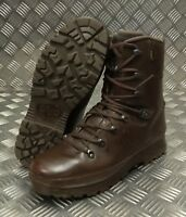 Genuine British Army Haix Goretex Lined Leather Cold Weather Combat Boots - SEL