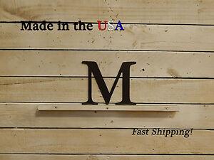 "4"" Single Metal Letter Sign, Garden Decor, Metal Decor, Home Decor, F1001"