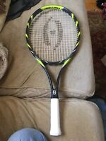 """Harrow Axis Junior Tennis Racquet Used 4"""" Grip Perfect Mint No Signs Of Use"""