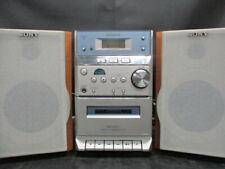 Sony HCD-EP313 Micro Hi-Fi Stereo System CD Cassette AM/FM. Works NO REMOTE (JR)