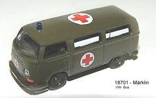 Märklin 18701- MFOR Bundeswehr VW Bus T2 Ambulance