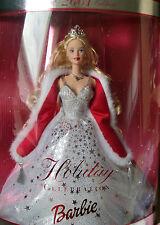 Holiday Celebration Barbie 2001 Boîte d'origine jamais ouverte