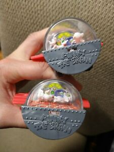 1997 Pinky & the Brain Space Capsule Spaceship Wendys Kids Meal Promotion, LOT