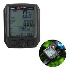 Fahrradcomputer Tachometer  Fahrradtacho Kilometerzähler LCD Wasserdicht