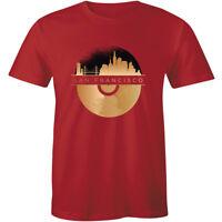 San Francisco California Skyline Souvenir T-Shirt Men's Premium Tee