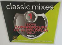 DMC CLASSIC MIXES I LOVE SUPERGROUPS U2 VS COLDPLAY VOL 1 DJ REMIX SERVICE CD
