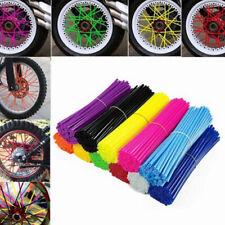 72Pcs/set Universal Wheel Spoke Wraps Motorcycle Cover Pipe Skins Good Quality