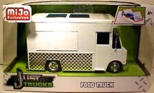 JADA FOOD TRUCK ROACH COACH COLLECTIBLE WHITE READY FOR CUSTOM PAINT 1/24