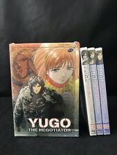 Yugo The Negotiator Complete LE Collectors Box 4 DVD Set BRAND NEW/unopened