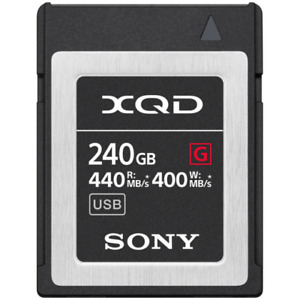 Sony 240GB G Series Up To 440MB/S Read & 400MB/s Write XQD Memory Card