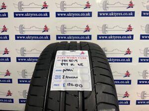 1x 235/35/19 87Y XL Pirelli P-Zero NZ 7.4MM (1091) FREE FITTING LONDON