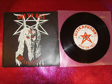 WITCHFYNDE-GIVE 'EM HELL-7'' N.MINT/EX+/ROUND 1/1979 UK