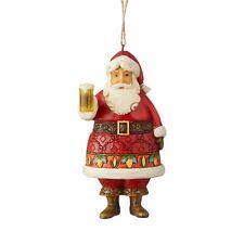 Jim Shore Craft Beer Santa Christmas Ornament 6004304 New