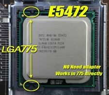 Intel Xeon E5472 3GHz/12M/1600 LGA775 Quad Core CPU (Better than Q9650) 80W TDP