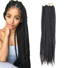 "22"" Synthetic Crotchet 3X Box Braids Senegalese Twist Crochet Hair Extensions"