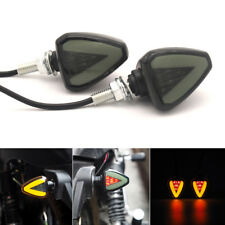 2x 12V Scooter Moped Motorcycle Led Turn Signal Light Indicator w/ Red Stop Lamp (Fits: Yamaha)
