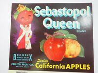 Caledonia Brand Grapefruit Placentia Orange Assn.Calif.Vintage Crate Label 1930s