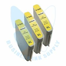 3 Yellow 940XL 940Y Ink Cartridges for HP OfficeJet Pro 8000 8500 8500A Printer