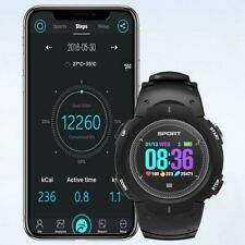 IP68 Smart Watch Step Fitness Tracker Heart Monitor Sleep Android iOS Compatible