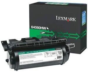 64080HW LEXMARK T640 T642 T644 TONER CARTRIDGE BLACK .