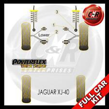 Jaguar XJ40 Powerflex Black Complete Bush Kit