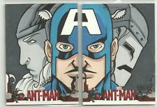 2015 Upper Deck Marvel Ant-Man Avengers 2 Card Puzzle Sketch by Bryan Kaiser