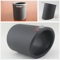 DIY Durable 89mm Matte Black Car SUV Carbon Fiber Exhaust Muffler Pipe Tip Cover