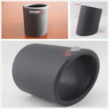 DIY Durable 89mm Matte Black Car SUV Carbon Fiber Exhaust Muffler Pipe Tip Cover