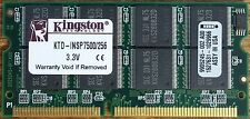 Kingston 256 MB SO-DIMM 100 MHz SDRAM Memory (KTD-INSP7500/256)