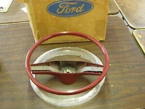 NOS 1974 1979 Ford Torino LTD Granada Mustang II Cougar Steering Wheel 1975 1976