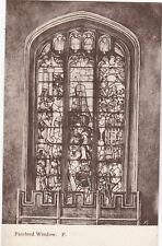 Church Window, FAIRFORD, Gloucestershire