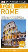 DK Eyewitness Top 10 Travel Guide ROME NEW traveling Italy pocket book sights