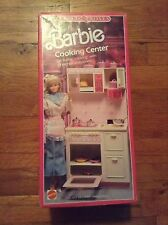 VINTAGE SWEET ROSES BARBIE COOKING CENTER