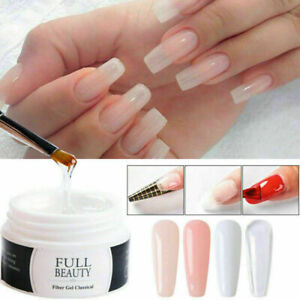 UK Quick Building UV Builder Nail Gel Polish Nail Art Extension Acrylic Manicure